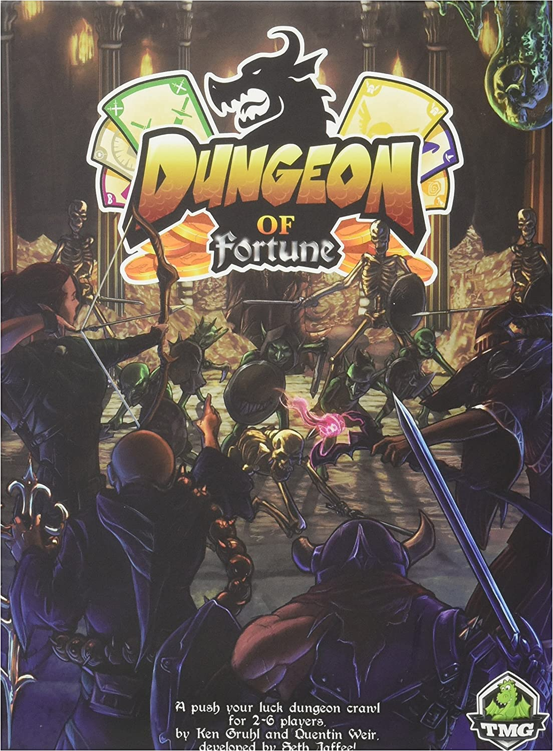 Dungeon Of Fortune Board Game