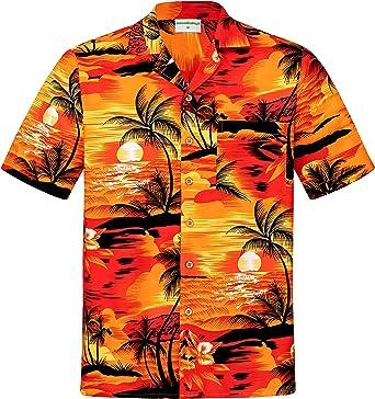 Men's Hawaiian Shirt 100% Cotton S - 8XL Coconut Buttons Aloha ...