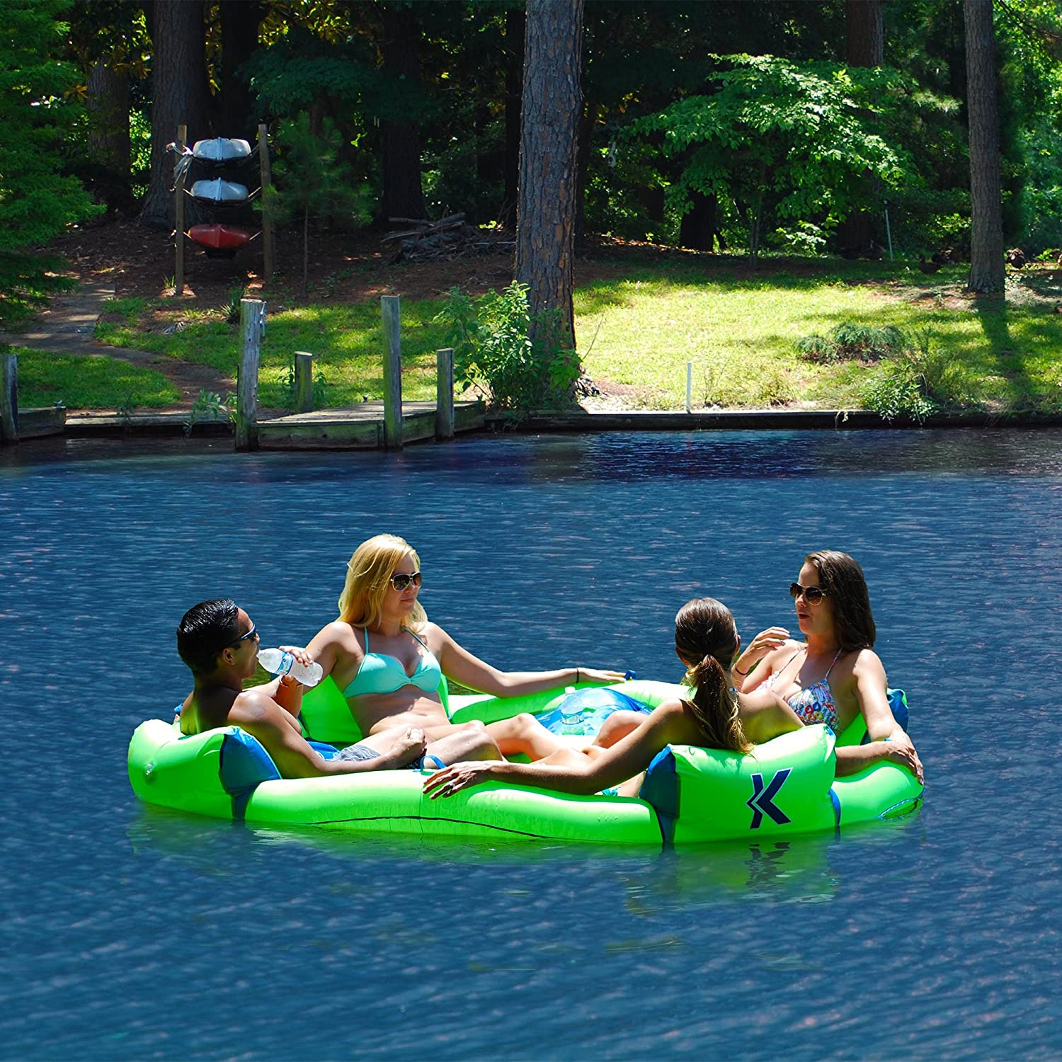 Amazon.com: Kelsyus 80108 Big Nauti - Tubo hinchable para ...