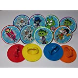 Character Teen Titans Go Cupcake Ring Toppers - SET OF 12