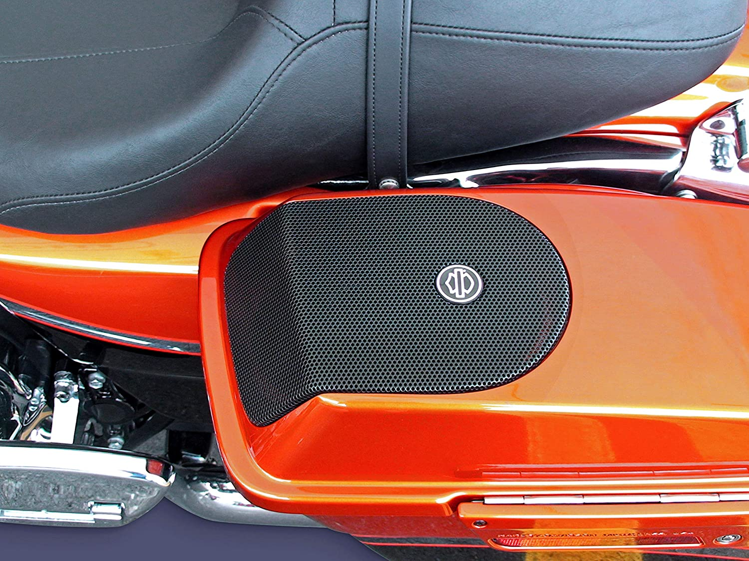 "J/&M ROKKER XXR 5X7/"" Saddlebag-Lid Speaker Upgrade Kit w//High-Output Tweeter for 2006-2019 Harley Baggers #HDRK-5X7TW-XXR J/&M Corporation"