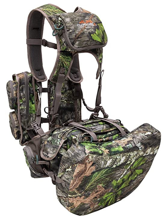69473864d2ff7 Amazon.com : ALPS OutdoorZ NWTF Long Spur Deluxe Hunting Vest, Mossy Oak  Obsession : Sports & Outdoors
