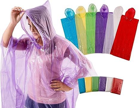 Amazon.com: 4Happi, jorongo de lluvia con capucha y ...