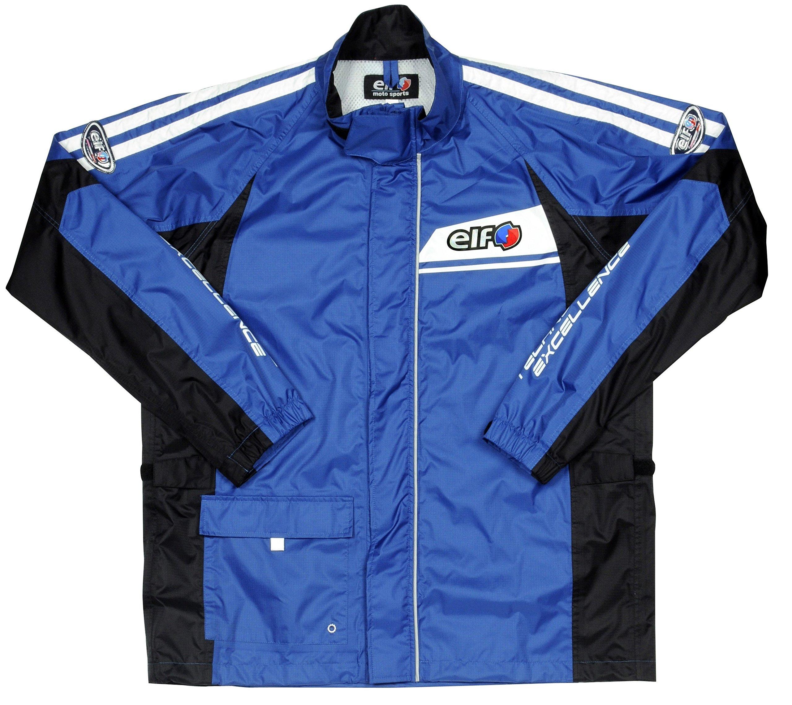 Elf rain suit Separate for (ELF) bike Blue LL ELR-5291