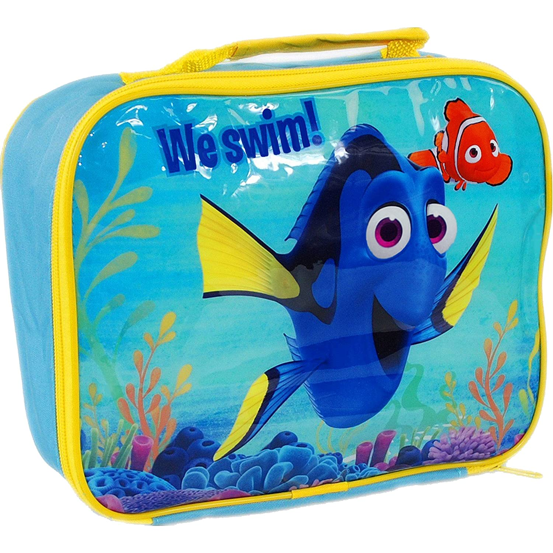 Disney Finding Dory & Nemo School Packed Lunch Travel Bag