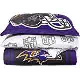 Officially Licensed NFL Full Size Bed in a Bag Set