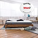 Emma Original King Size Mattress 150x200 cm 25 cm high Memory Foam Mattress Which? Best Buy 2018 and 2019 Mattress I Good Housekeeping Institute Approved 2018 I 100 Nights trial I 10 years warranty