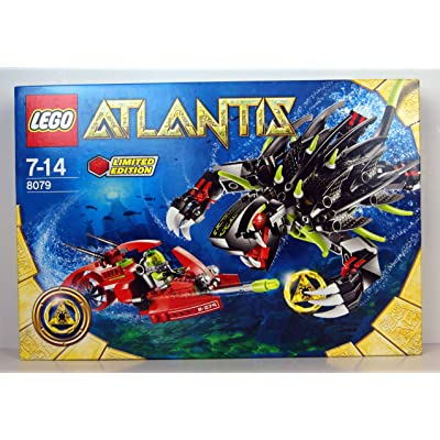LEGO Atlantis Shadow Snapper 8079: Toys & Games