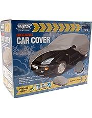 Maypole 9861 Breathable Full Car Cover, Grey, Medium