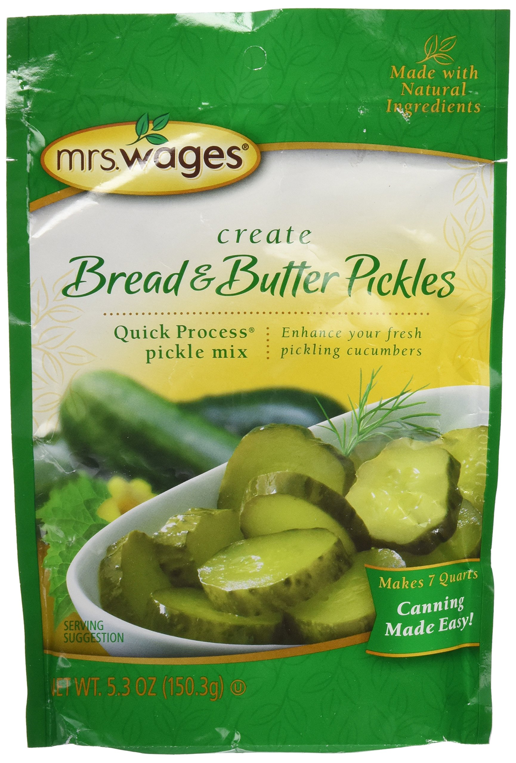 Mrs. Wages Bread N Butter Pickling Mix (Pack of 1)
