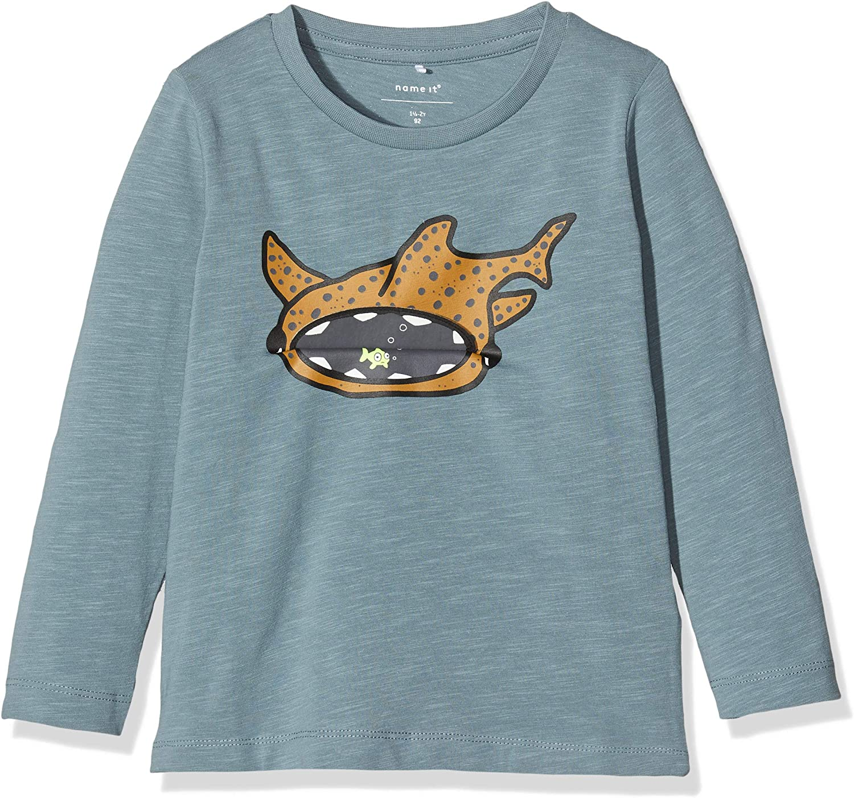 Name It Nmmtrifl Ls Top T-Shirt Gar/çon
