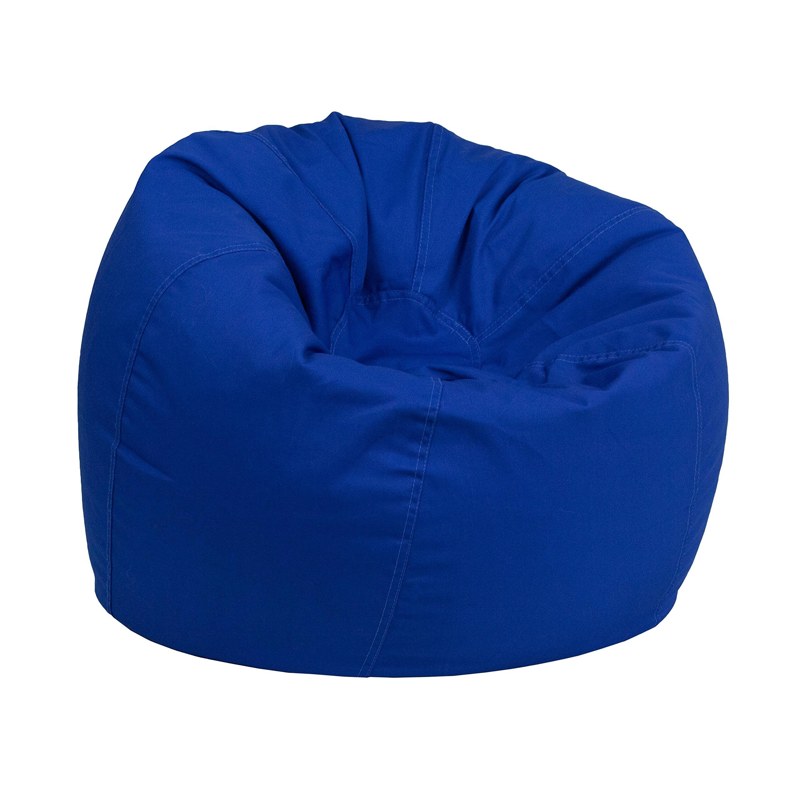 Flash Furniture Small Solid Royal Blue Kids Bean Bag Chair