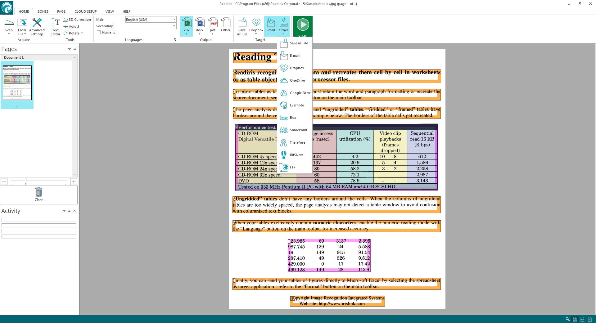 Readiris Pro 15 Ocr Software For Windows Download Pentium 2 Block Diagram
