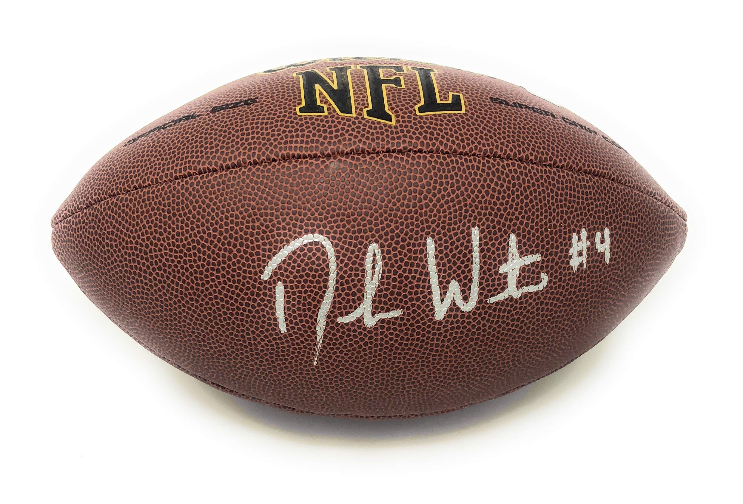 Deshaun Watson Houston Texans Signed Autograph NFL Football Watson GTSM Player Hologram