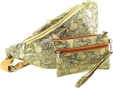 bag waist belt bag belt bags women Yellow pouch woman  beltbag leather fanny pack for woman fanny packs for women
