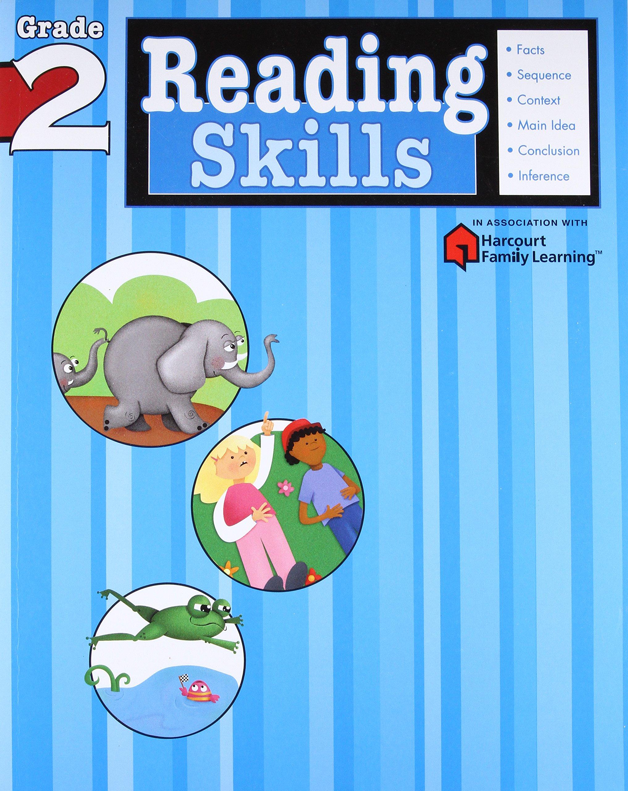 Reading Skills: Grade 2 (Flash Kids Harcourt Family Learning): Flash Kids  Editors: 9781411401143: Amazon.com: Books