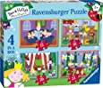 Ravensburger Ben & Holly 4 in a Box (12, 16, 20, 24pc) Jigsaw Puzzles