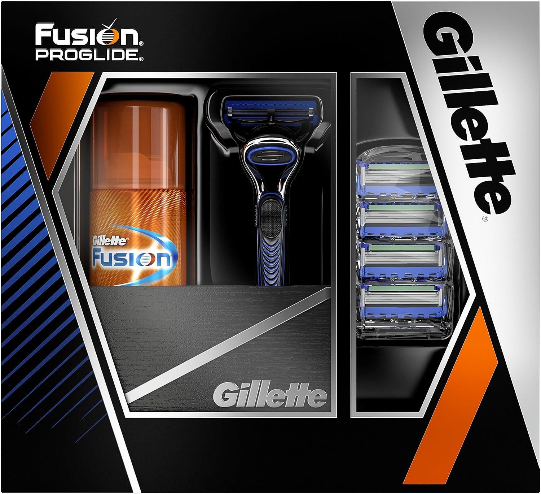 Gillette Fusion ProGlide – Los Hombres De Afeitar Set de regalo ...
