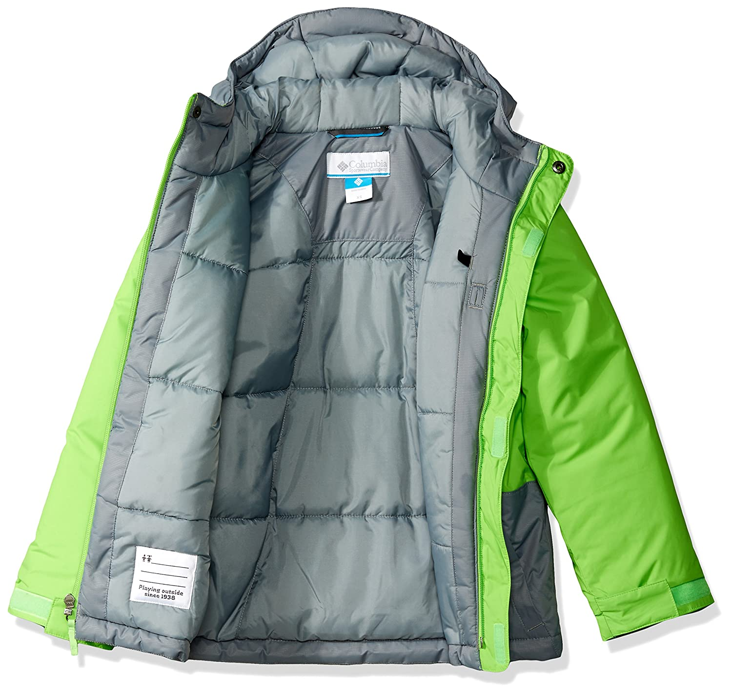 7aceb7e10 Columbia Boys' Lightning Lift Jacket: Amazon.ca: Clothing & Accessories