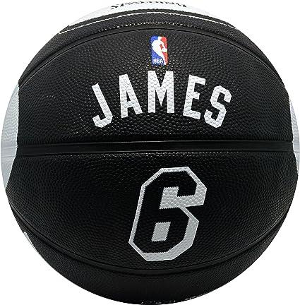 Spalding Miami Heat Lebron James #6 Jersey Rubber Basketball