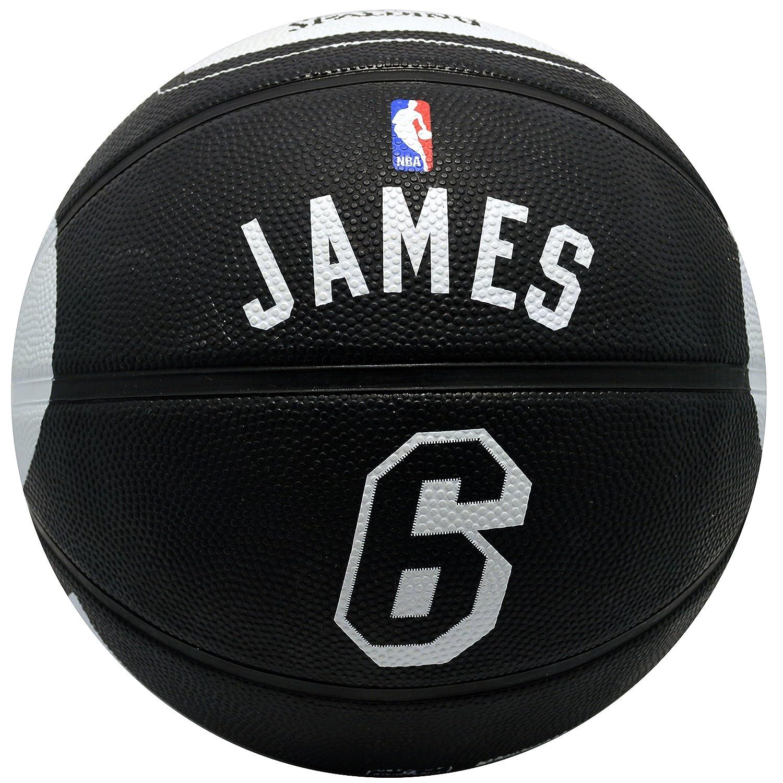 Spalding Miami Heat LeBron James # 6 Jersey de goma baloncesto ...