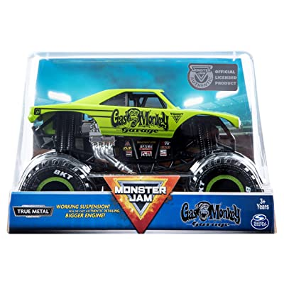 Mnj VHC 1to24 Die Cast Gas Monkey GML: Toys & Games