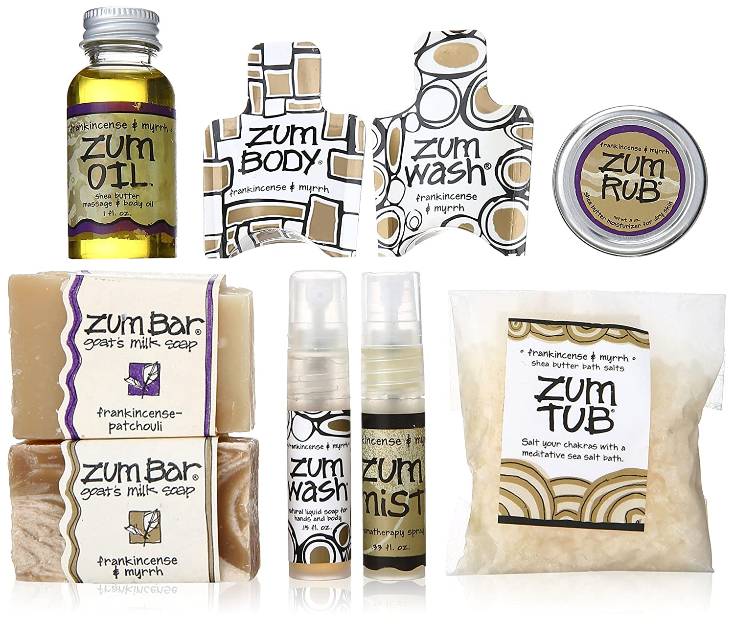 Indigo Wild Zum Bag, Frankincense and Myrrh