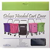 Easy Wheels Deluxe Hooded Carrier Jumbo Liner, Navy Blue
