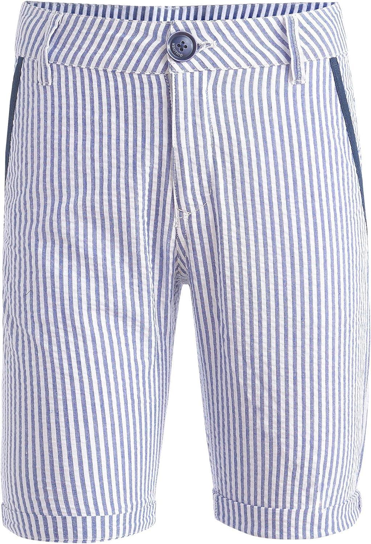 Maritim Muster f/ür 8-13 Jahre Kurz GULLIVER Jungen Shorts Farbe Blau Wei/ß Gestreift Baumwolle