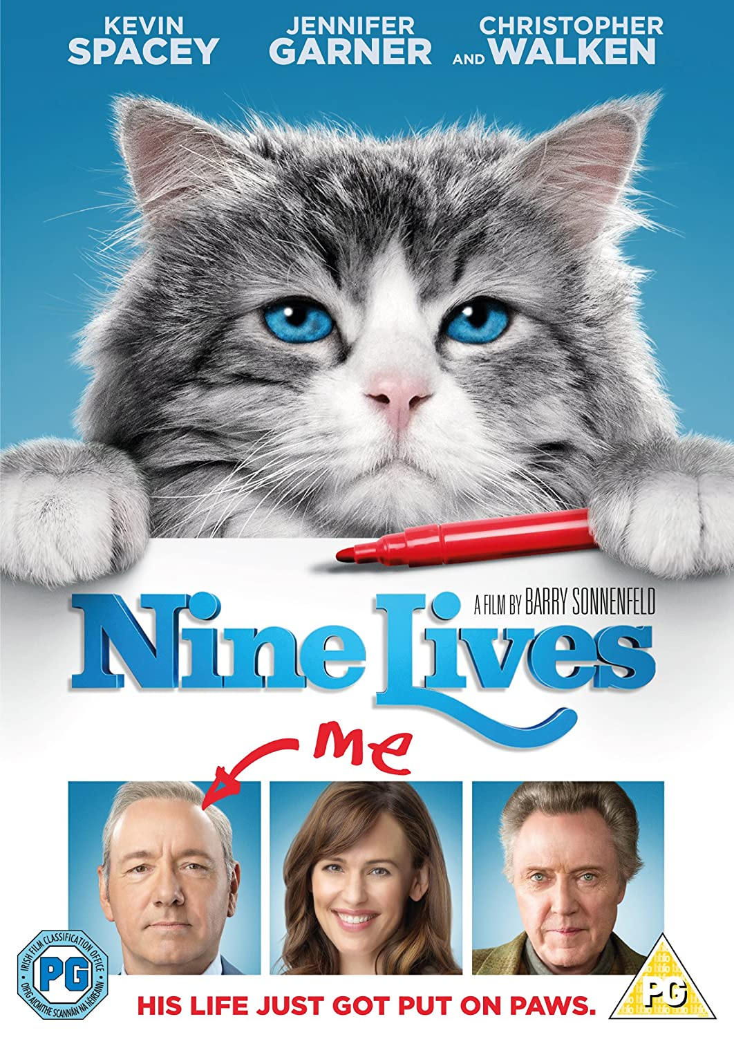 Nine Lives Edizione: Regno Unito Reino Unido DVD: Amazon.es ...