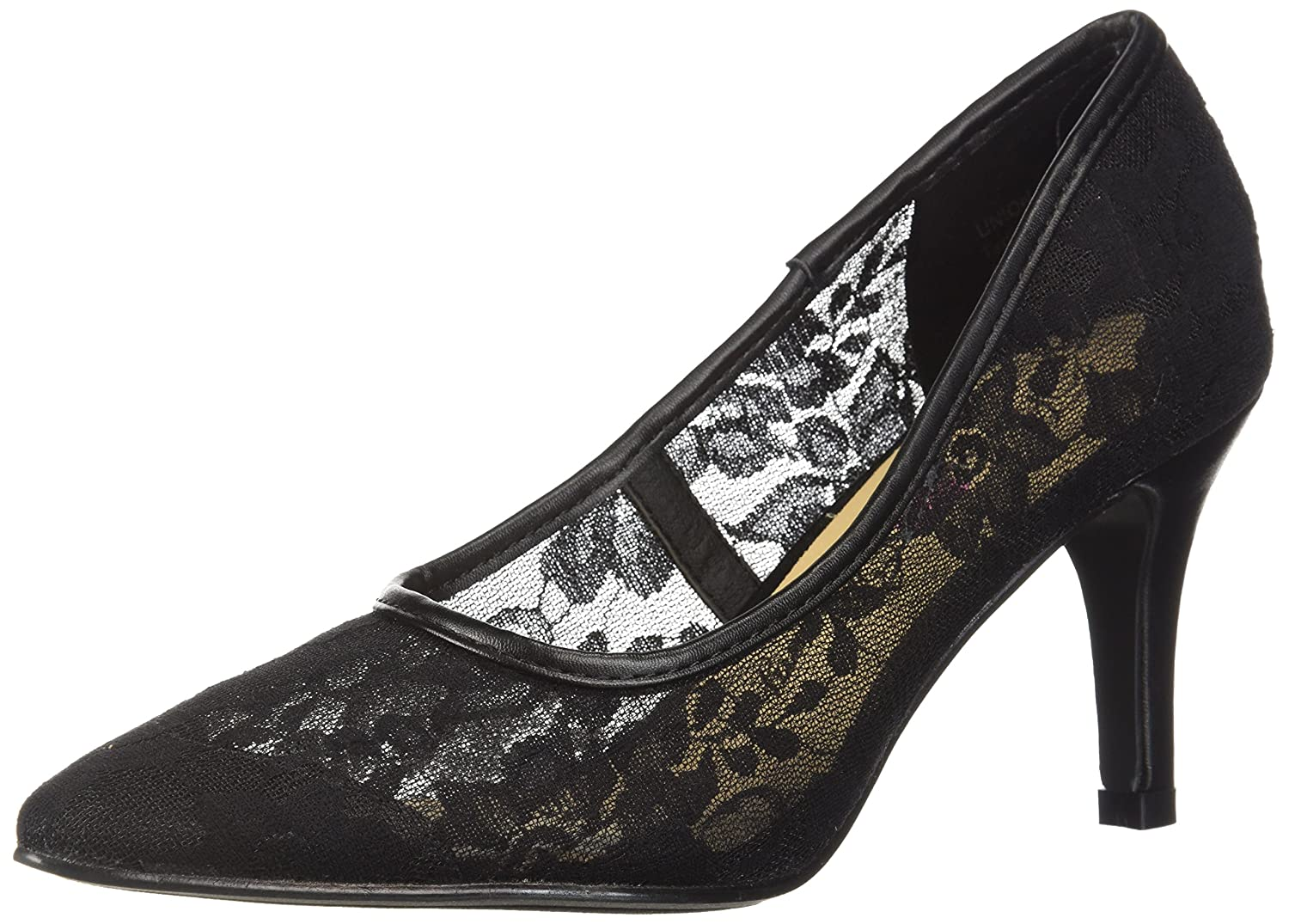 Penny Loves Kenny Women's Union Fl Pump B076FKCLBG 8.5 W US|Black Lace