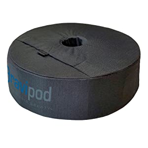 "Gravipod 18"" Round Umbrella Base Weight Bag - Up To 85 lbs."
