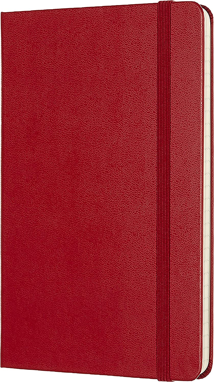 Couleur Noir Moleskine Carnet de Notes Lign/é Classique 192 Pages Carnet avec Couverture Rigide et Fermeture Elastique Dimensions A4 21 x 29.7 cm