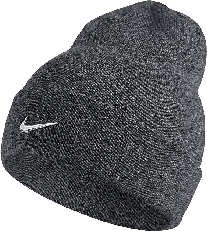 Da Uomo Nike Swoosh elegante Risvolto Stile Cappello Invernale Beanie Headwear NUOVO CON ETICHETTA