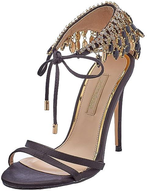 Primadonna 112150101RS Scarpe con Cinturino alla Caviglia Donna Nero 39