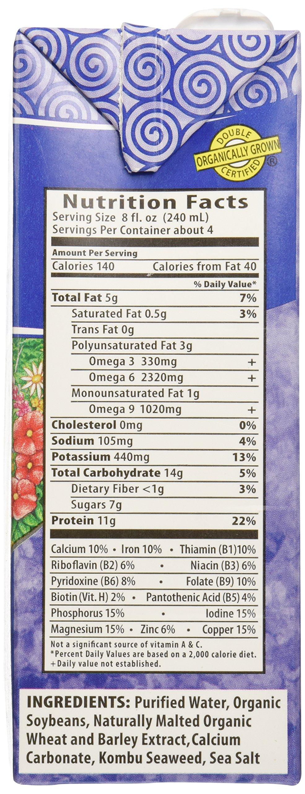 Eden Foods, Soy Milk Original Organic, 32 Fl Oz by Eden (Image #4)