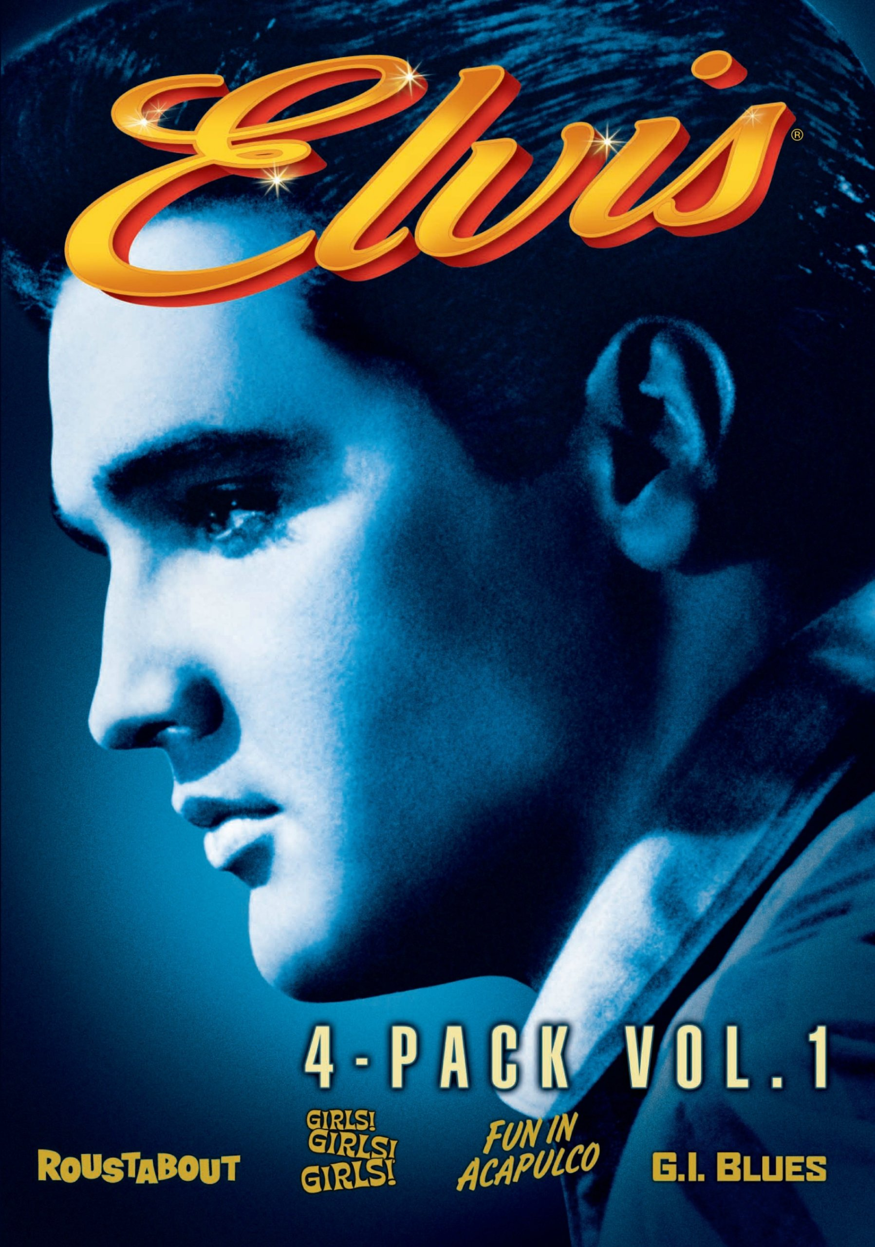 Elvis Collection: Volume One (Roustabout / Girls Girls Girls / Fun In Acapulco / G.I. Blues)