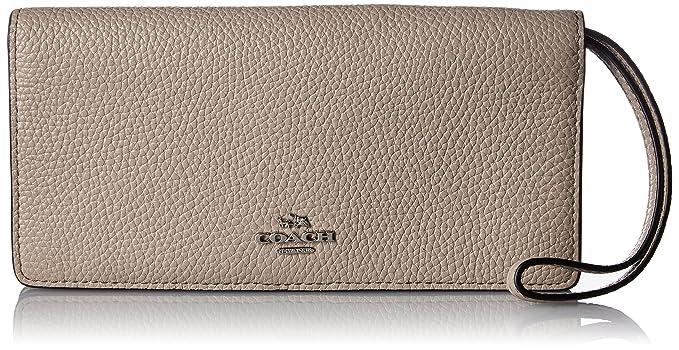 b4883db73f99 COACH Women s Colorblock Slim Wallet SV Stone Multi Wallets at ...