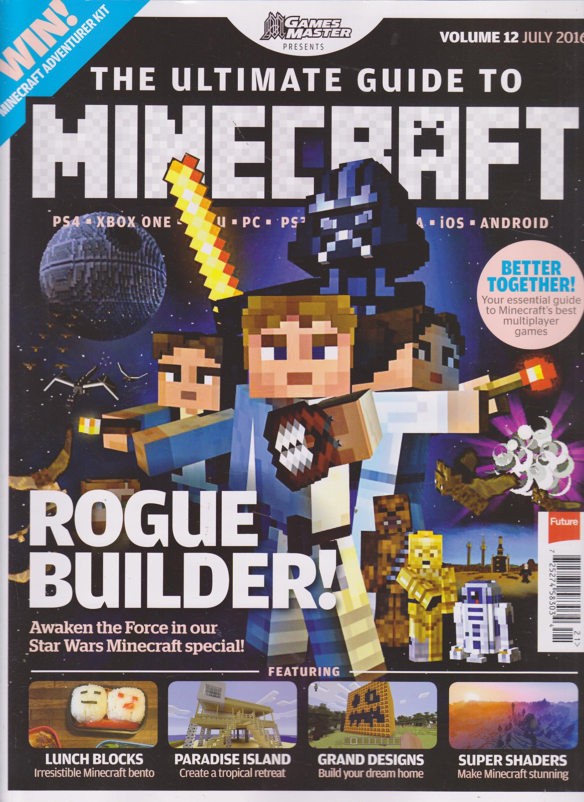 Games Master Presents The Ultimate Guide to Minecraft Volume 12 July 2016 ebook