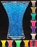 Perles d'eau en crystal pour décoration de table de mariage centre de table Gel Sol - BLEU