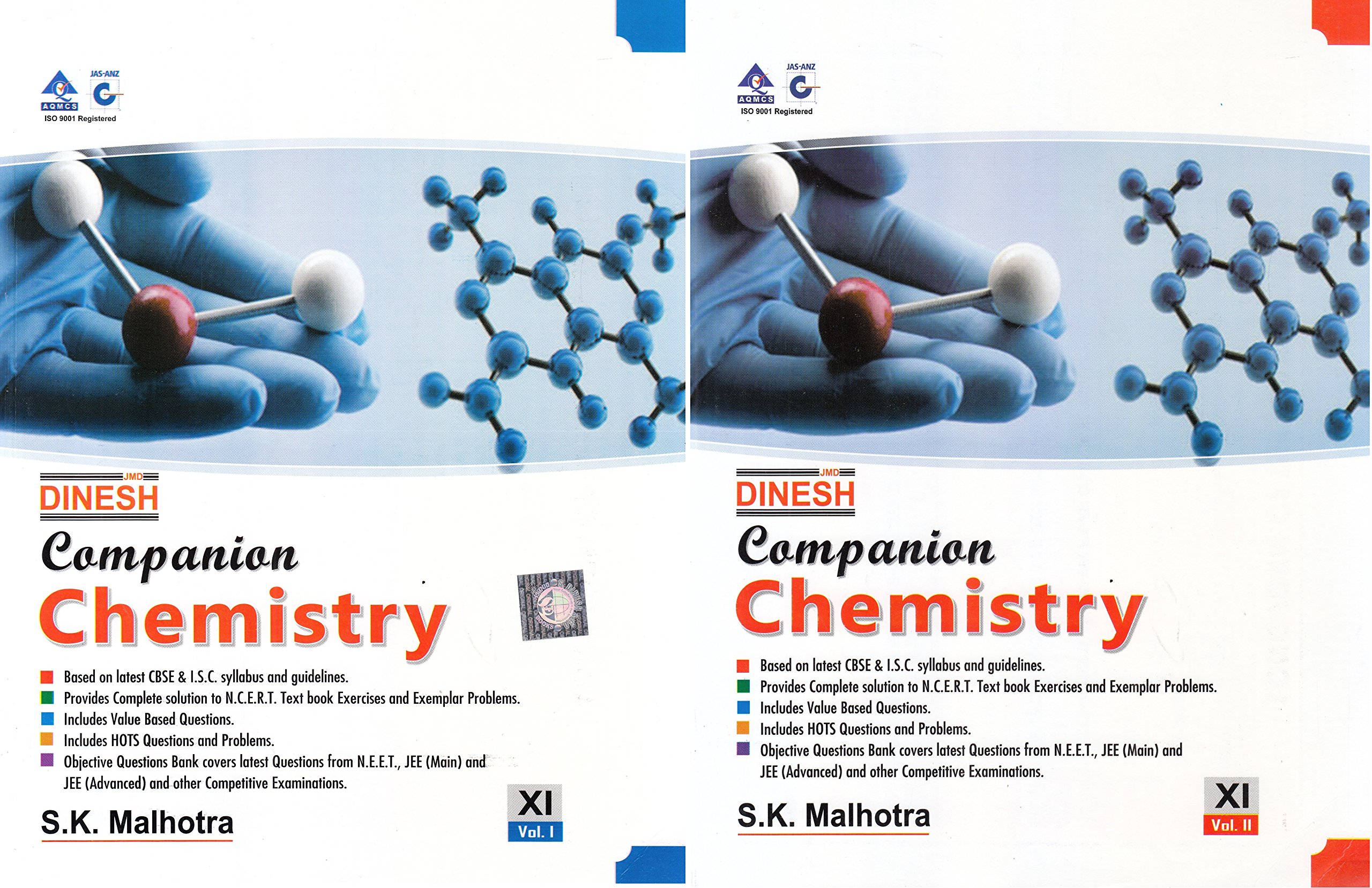 Dinesh Companion Chemistry for Class 11 - 2018-2019 Session