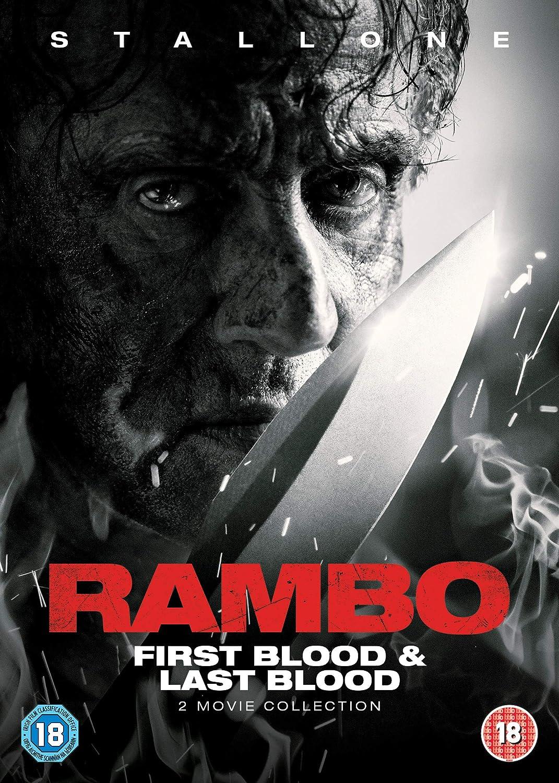 Rambo: First Blood & Last Blood 2 Dvd Edizione: Regno Unito Italia: Amazon.es: Cine y Series TV