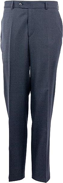Atelier Torino - Pantaloni da abito - Basic - Uomo Grau W35  Amazon.it   Abbigliamento 76cc9ff8130