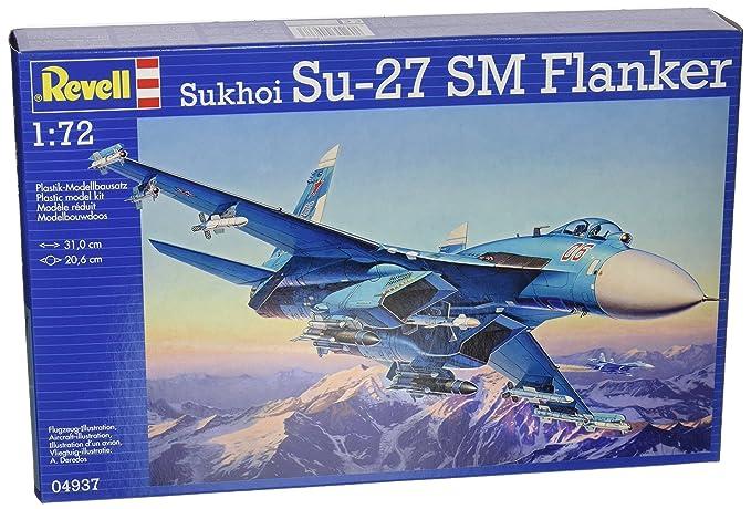 5 opinioni per Revell 04937- Sukhoi Su-27 SM Flanker Kit di Modello, in Plastica, in Scala 1:72