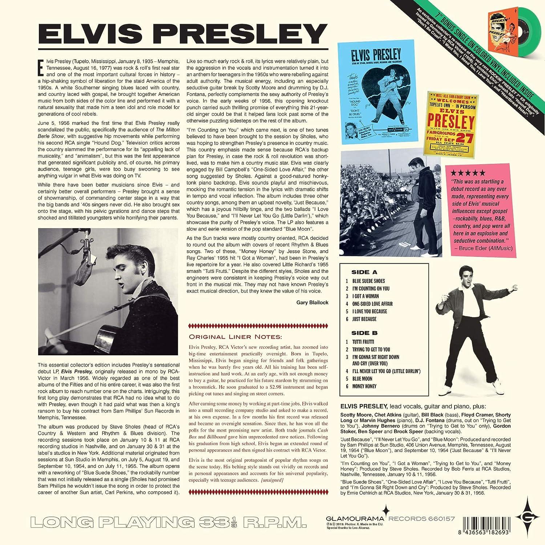 ELVIS PRESLEY - Elvis Presley (Debut Album) (180G 33 Rpm/7Inch 45