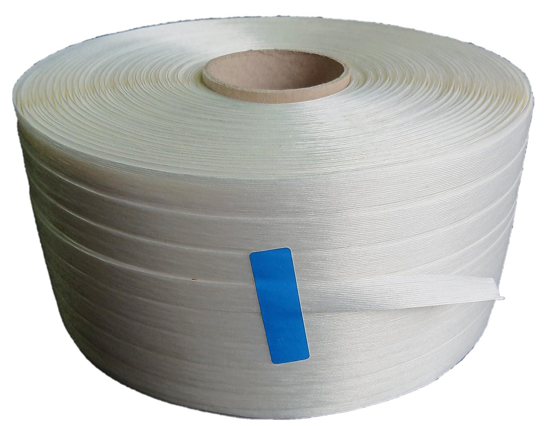 Feuillard textile manuel, 9mm, 1500m, Résistant aux UV et intempéries Résistant aux UV et intempéries GRAVASAC