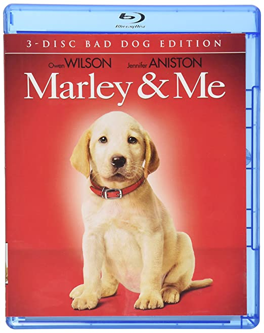 Amazon Com Marley Me Three Disc Bad Dog Edition Blu Ray Owen Wilson Jennifer Aniston Eric Dane Kathleen Turner Alan Arkin Nathan Gamble Haley Bennett Ann Dowd Clarke Peters Finley Jacobsen Lucy Merriam Bryce