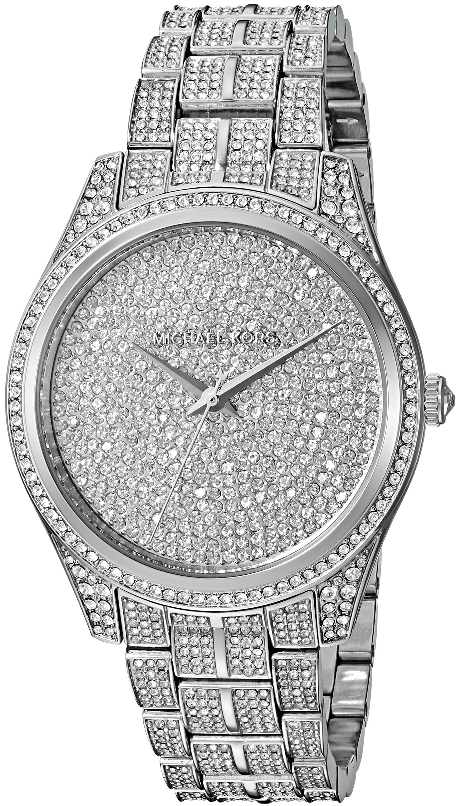 Michael Kors Women's 'Lauryn' Quartz Stainless Steel Casual Watch, Color:Silver-Toned (Model: MK3717)