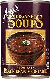 Amy's Organic Soups, Low Fat Black Bean Vegetable, 14.5 oz