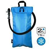 Cooler Bag & Protective Sleeve 2in1 for Hydration Water Bladder up to 2L   KEEPS WATER COOL & PROTECTS YOUR BLADDER   Lightweight & Water Resistant   Fits to all Backpacks - BLADDER IS NOT INCLUDED!